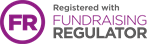 Registered with Fundrasing Regulator